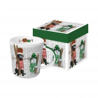 Porzellan-Tasse - William & Kate