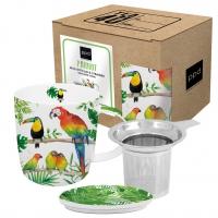 Tee-Tassen - Strainer Cardboard Tropical