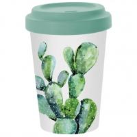 *)Becher aus Bambus Cactus