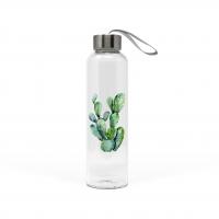 Glasflasche - Cactus
