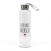 Glasflasche - Lieblingsmensch