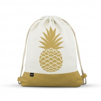 City Bag - City Bag with Leatherette Pineapple