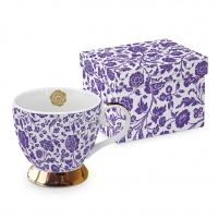 +*)Classic Tasse - Classic GB George V. violett echtes Gold