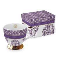 Classic Tasse - Madaket violet real gold