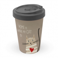 Bamboo mug To-Go - Home Cat