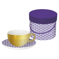 Reflecting Tasse - Reflecting Cup GB Ginza violet real gold