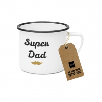 Metal Cup - Super Dad