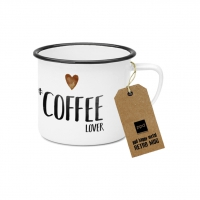 Metal Cup - Happy Metal Coffee Lover