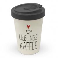 Bamboo mug To-Go - Lieblingskaffee