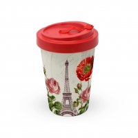 Bambusbecher To-Go - Die Tour Eiffel