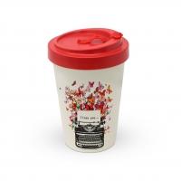 Bamboo mug To-Go -  I Love You