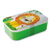 Bamboo Lunchbox - Happy Lion