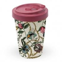 Bamboo mug To-Go - Bugs & Butterflies