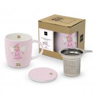 Tee-Tassen - Mug Lid & Strainer Cardboard Lucy