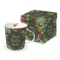 Porzellan-Henkelbecher - Winter Wishes