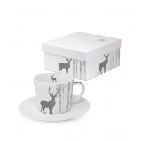 Espresso Tassen - Trend Espresso GB Mystic Deer real silver