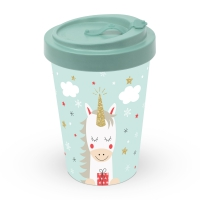 Bamboo mug To-Go - Dreaming Unicorn