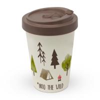 Bamboo mug To-Go - Into the wild