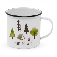 Metal Cup - Happy Metal Into the wild