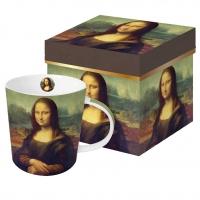 Porzellan-Henkelbecher - Mona Lisa (La Gioconda)