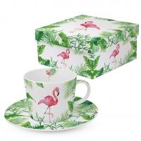 Tee-Tassen - Tropical Flamingo