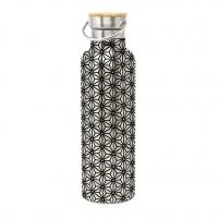 Edelstahl Trinkflasche - Bottle Ginza black