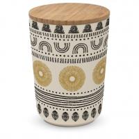 Bambus Storage - Storage Jar large Bamboo Ethno Style
