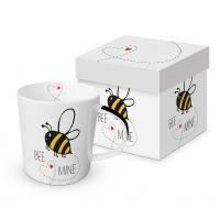Porzellan-Henkelbecher - Bee Mine