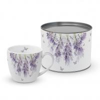 Porzellan-Tasse - Hanging Lavender