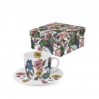 Espresso Tassen - Birds & Flowers