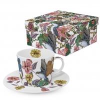 Kaffee Tassen - Birds & Flowers