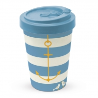 Bamboo mug To-Go - Beach Anchor