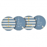 Bambus Teller - Plates Beach Set of 4