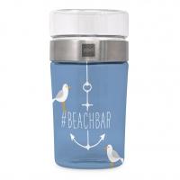 Snack 2Go Glas - Beach