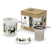 Tee-Tassen - Adventure Deer white T-Mug CB