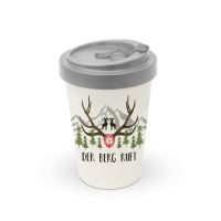 Bamboo mug To-Go - Der Berg ruft Travel Mug