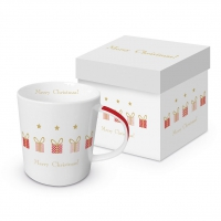 Porzellan-Henkelbecher - Gift Parade Trend GB