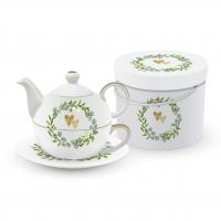 Tea 4 One - Two Hearts Tea4one Set