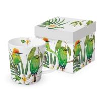 Porzellan-Henkelbecher - Bali Trend