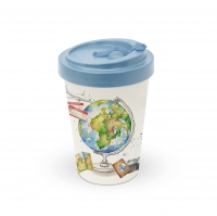 Bamboo mug To-Go - One World