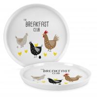 Porzellan-Teller 21cm - Breakfast Club Trend Plate 21