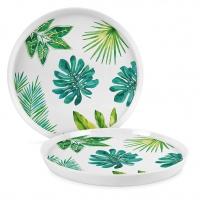 Porzellan-Teller 27cm - Jungle Trend Plate 27