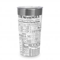 Edelstahl Travel Mug - The Messenger Steel Travel Mug