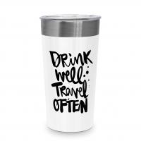 Stainless Steel Coffee-2-Go - Drink well Steel Travel Mug