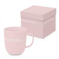 Porzellan-Henkelbecher - Pure Little Things Matte