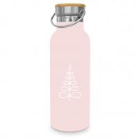 Edelstahl Trinkflasche - Pure Mood rosé