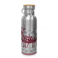Edelstahl Trinkflasche - Scandic Christmas