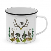 Metal Cup - Wild Happy Metal Mug