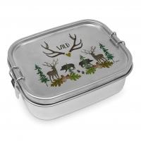 Edelstahl Brotdose - Wild Steel Lunch Box