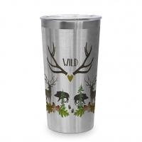 Edelstahl Travel Mug - Wild 0,43